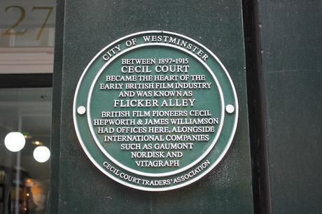 #plaque366 Flicker Alley @CecilCourt