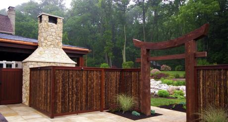 Reed Privacy Fence Designs