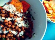 Roasted Chickpea Tabbouleh Salad