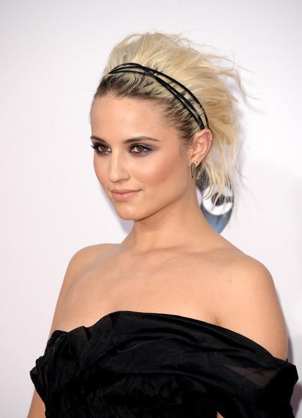 Updo with headbands friday hairstyle