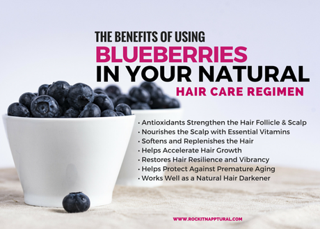 Benefits of Blueberries for Hair