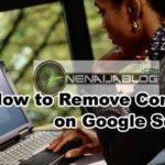 remove content on google search