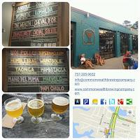 #VABreweryChallenge - Virginia Beach with Pleasure House Brewing (#39) & Commonwealth Brewing Company (#40)