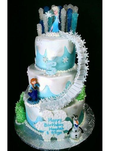 Best Frozen Cake Ideas for an Amazing Frozen Party - Paperblog