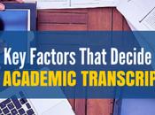 Factors That Decide Academic Transcription Rates