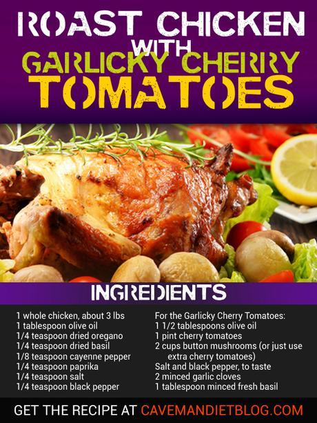 paleo dinner recipes roasted chicken with ingredients
