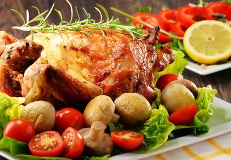 paleo dinner recipes roasted chicken featured image