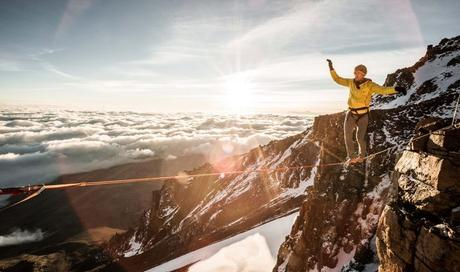 Swiss Climber Sets New Slackline Record on Kilimanjaro