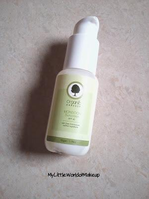 Organic Harvest Monsoon Sunscreen Lotion SPF 30 Review!