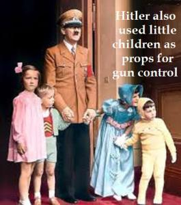 Hitler children gun control