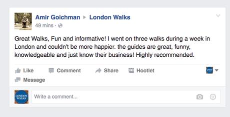 London Walkers Review London Walks
