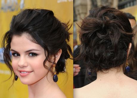 Simple and effortless updos for medium hair to do yourself paperblog messy bun updo hairstyle medium hair solutioingenieria Gallery