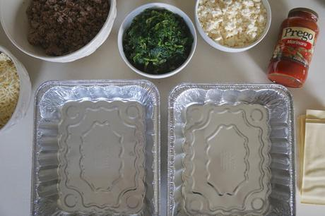 Back-To-School Batch Cooking: Sausage Spinach Lasagna