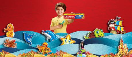 Let Imagination Run Wild Children and Colgate Magical Stories