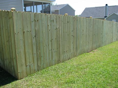 Dog Ear Fence Boards Is Popular Choice