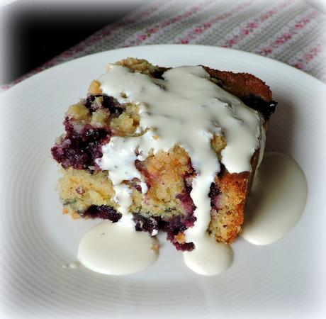 Lemon Blueberry Buckle* Serves 8 Printable Recipe