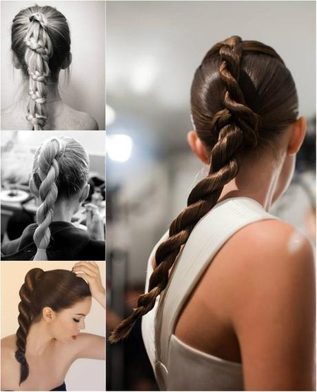 Rope ponytail Braided Hairstyle