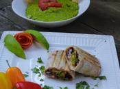 Garden Fresco Burrito-Stuffed with Oven Roasted Vegetables,White Rice Black Beans