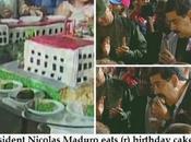 Them Cake: Venezuela Gov't Celebrates Dead Hugo Chavez's Birthday with $100,000 Cake While People Starve