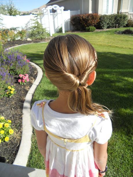 Flip tail School Girl Hairstyle