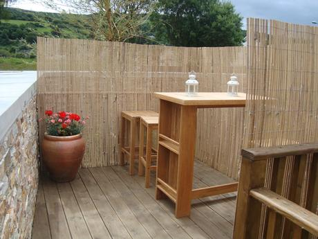 Split Bamboo Fencing Garden And Terrace