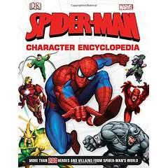 Image: Spider-Man Character Encyclopedia, by Daniel Wallace (Author). Publisher: DK Children; First Edition edition (March 31, 2014)