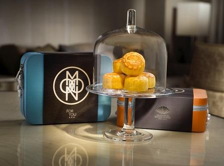 Mooncakes at The Landmark Mandarin Oriental Hong Kong