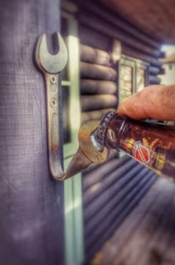 Spanners / Wrenches Used To Make a Bottle Opener