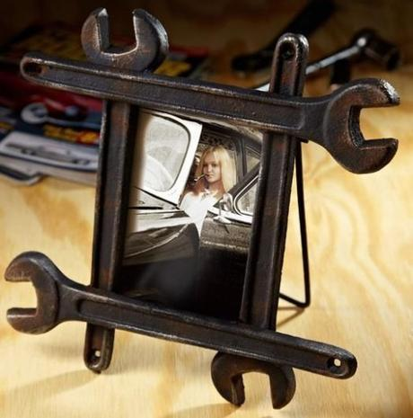 Spanners / Wrenches Used To Make a Photo Frame
