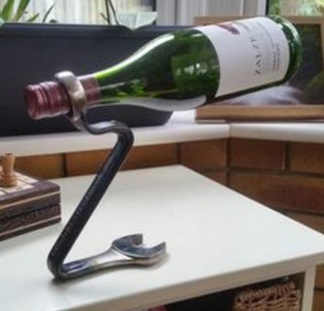 Spanners / Wrenches Used To Make a Bottle Holder
