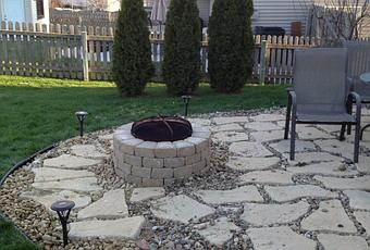 Cleaning The Rock Patio Ideas In A Yard Paperblog