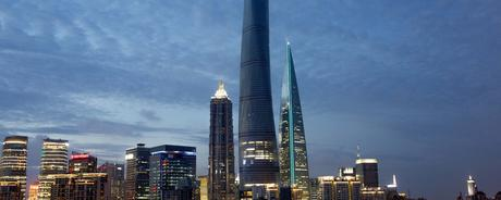 Shanghai Tower – The world's second tallest building.