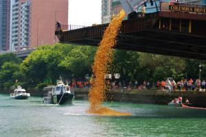 The Launching of the Duckies