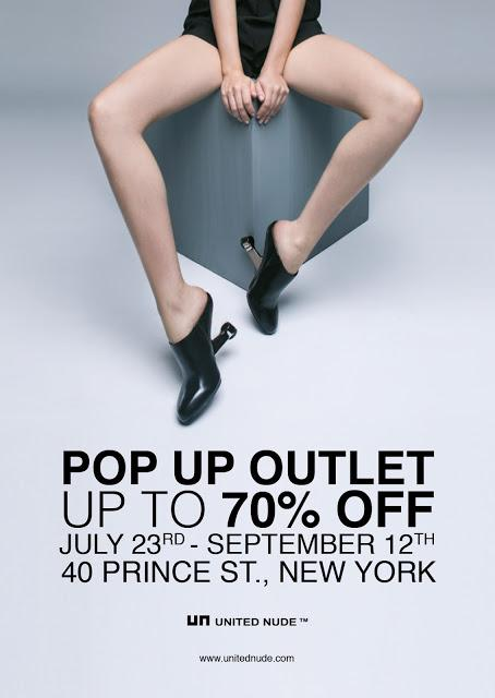 United Nude Pop-up Store and Sample Sale