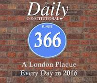 #plaque366 Daniel Defoe
