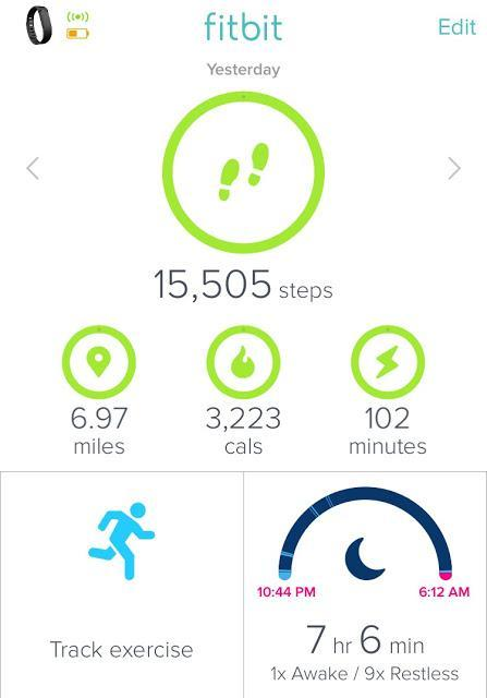 Four Miles and Fifteen Thousand Steps