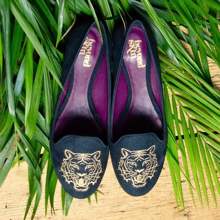 Beyond Skin launches bespoke Tiger & Tigress shoes