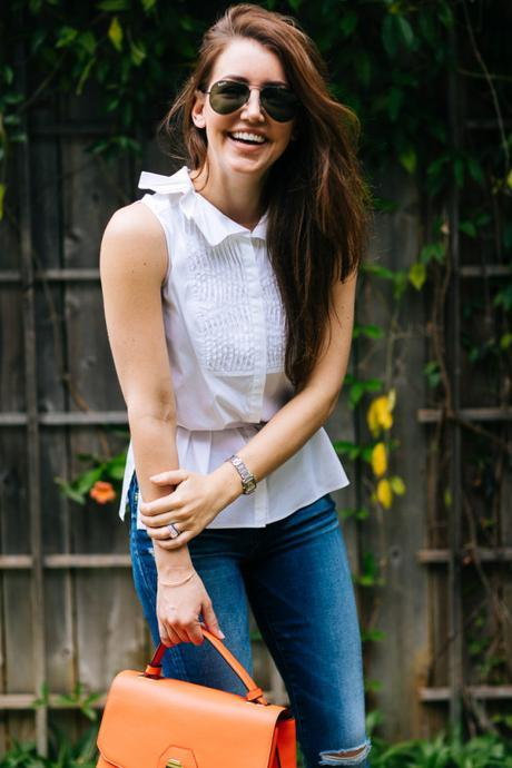 Amy Havins shares her casual weekend style.