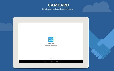 CamCard - Business Card Reader - screenshot