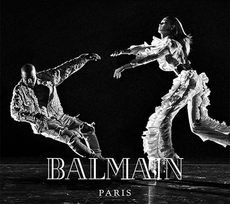 Kanye West Wolves Balmain Fall 2016 Campaign