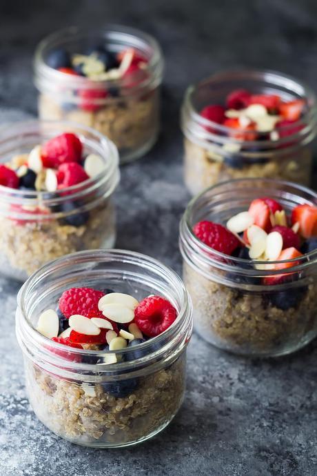 Berry Almond Breakfast Quinoa-2