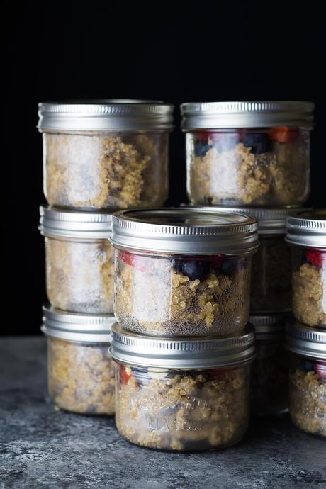Berry Almond Breakfast Quinoa-3