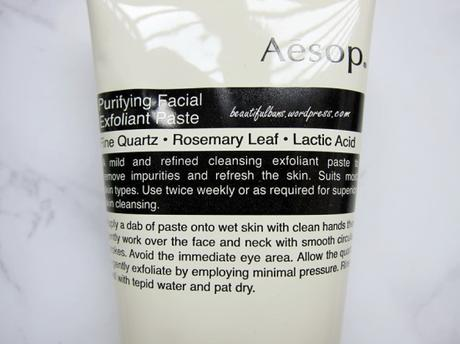 Aesop Purifying Facial Exfoliant Paste (2)