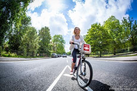Fitness On Toast Faya Blog Girl Healthy Santander Cycle Tower Bridge London Boom Cycle Unlock London-22