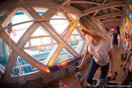 Fitness On Toast Faya Blog Girl Healthy Santander Cycle Tower Bridge London Boom Cycle Unlock London-6
