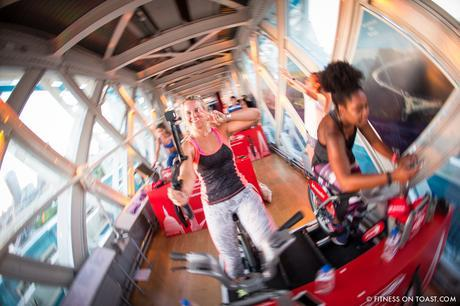 Fitness On Toast Faya Blog Girl Healthy Santander Cycle Tower Bridge London Boom Cycle Unlock London-4