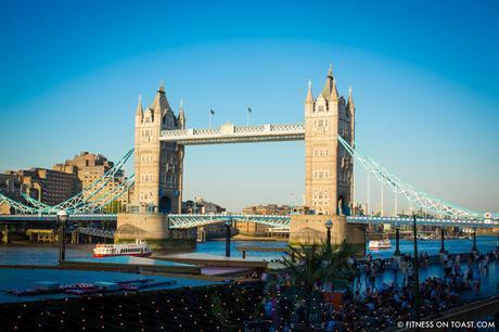Fitness On Toast Faya Blog Girl Healthy Santander Cycle Tower Bridge London Boom Cycle Unlock London-18