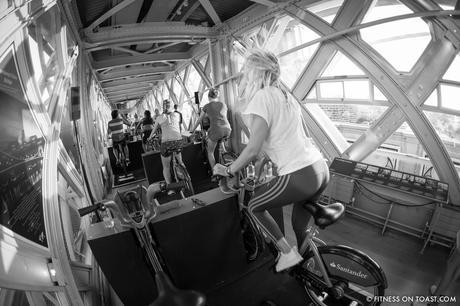 Fitness On Toast Faya Blog Girl Healthy Santander Cycle Tower Bridge London Boom Cycle Unlock London-7