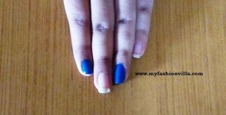 Paint Nails with Blue Colors