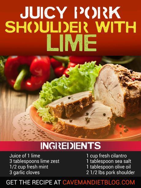 paleo dinner recipes pork shoulder with lime
